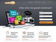 Faire un site internet gratuit avec Webnode
