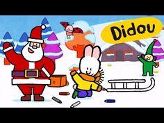 Didou dessine-moi Noël ❅ Didou et l'assistant du Père Noël ☃ Dessin animé de Noël - YouTube