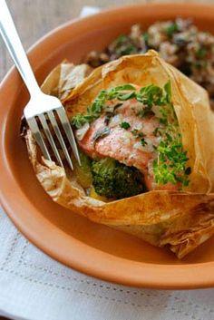 Healthy, GF, fish dish