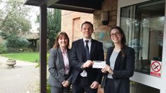 Big thank you to Keens Shay Keens MK who donated £762.59 from their annual fundraising; they fundraise every year for us and carry out various activities to fundraise for Willen Hospice. #thankyou