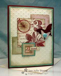 See Julie Stamp - Julie Wadlinger, Stampin' Up! Demonstrator : Postage Due - FabFri10 - SFF011813