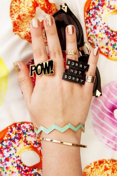 DIY Labelmaker Jewelry | Karen Kavett