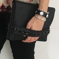 Clutch Bags, Purse, Leather Fashion, Leather Bag, Pouches, Fashion Bags, Dyi, Cricut, Handmade
