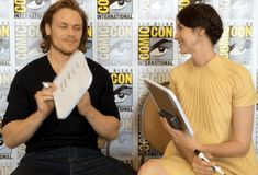 """And he wrote — a lot.   The """"Outlander"""" Stars Will Make You Swoon"""