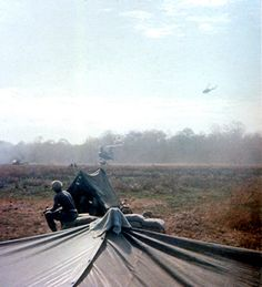 9th Inf. Reg. during Operation Gadsen along the Cambodian border, 1967