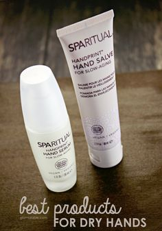 Best Treatment for Dry Hands - SpaRitual Handprint Hand Salve and SpaRitual Handprint Hand Serum