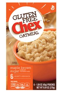 Gluten Free Chex™ Maple Brown Sugar. No #FODMAP ingredients, portion size is right #Sample