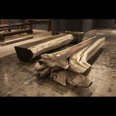 Rosewood Benches by Hudson Furniture Inc. Trunk Furniture, All Modern Furniture, Hudson Furniture, Solid Wood Furniture, Rustic Furniture, Furniture Design, Stone Bench, Wood Stone, Wood Resin Table
