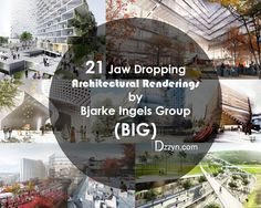 21 Jaw Dropping Architectural Renderings by Bjarke Ingels Group BIG_at Dzzyn.com