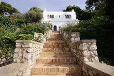 Il Fortino, Amalfi Coast Villa in Italy. Formerly the home of Mona Von Bismark.