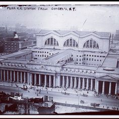 #Archival_Photo #1920 #Madison_Square_Garden #Penn_Station #building_buddy ; In case you don't know this is why we have the #LPC in #Gotham - this wonder was turn down to make way for the sacred house of Dolan in the 1960s.  This is just one more reason to root for the #Brooklyn_Nets and embrace #TheBarc over the disgraceful bowl if sh*t in 33rd street that destroyed a true landmark!!