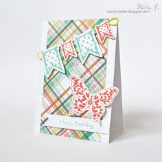 DIY happy birthday card with simple video tutorial