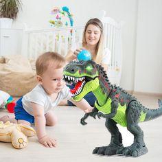 Electric Walking Dinosaur Toys with Music Light Spray Large Size Walk Sounds Animals Model Toys for Children Dinosaur Toys, Dinosaur Stuffed Animal, Light Music, 6 Years, Kids Toys, Om, Electric, Walking, Range