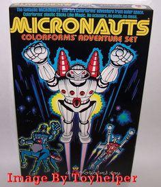 Micronauts Colorforms Adventure Play Set No.636 High Grade 1977 Unused #Colorforms