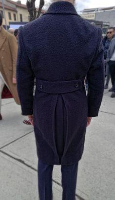 Umberto Cataldo De Pace wearing an unusual Casentino coat made by Sartoria Carfora Dapper, Mens Fashion, Full Figured, Elegant, Moda Masculina, Man Fashion, Fashion Men, Men's Fashion Styles, Men's Fashion