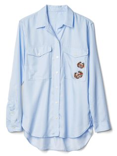 Embroidered button-up from Gap