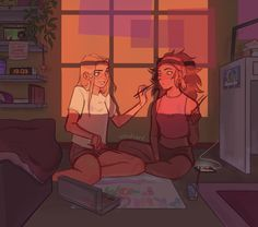 "eledsart: "" You can pry modern au catradora from my cold dead hands "" I need a modern au catradora comic in my life. I can beg you to grab it with your warm and lively catradora loving hands Lesbian Art, She Ra Princess Of Power, Cute Gay, Aesthetic Art, Cartoon Art, Cartoon Edits, Me As A Girlfriend, Drawing Reference, Cute Couples"