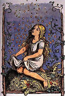 Die Sterntaler ist ein kurzes Märchen (ATU 779H*). Es steht in den Kinder- und Hausmärchen der Brüder Grimm ab der 2. Auflage von 1819 an Stelle 153 (KHM 153), vorher als Das arme Mädchen an Stelle 83, und geht zum Teil auf Achim von Arnims Novelle Die drei liebreichen Schwestern und der glückliche Färber zurück. Bei Grimm schrieb sich der Titel Die Sternthaler