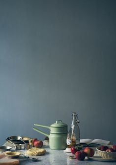 :: love this color, cant wait to do the front rooms of the house in it.  :: blue grey wall color