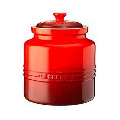Cookie Jar, Big, Red, Le Creuset