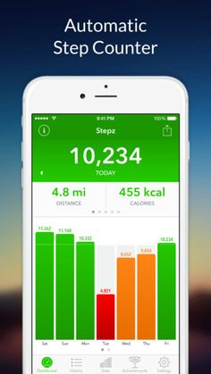 step tracker app iphone 6