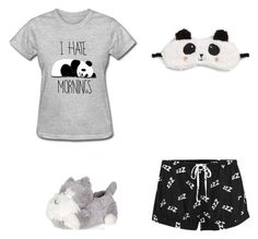 """My sleepy times"" by hermione16 ❤ liked on Polyvore featuring MINKPINK and P.J. Salvage"