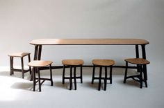 """Table """"Fall/Winter"""" by Valentin Loellmann 