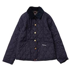 Buy Barbour Girls' Herterton Quilt Jacket Online at johnlewis.com 2yrs-14yrs