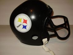 5362b6f80a3 Pittsburgh Steelers Franklin Vintage Collectible Youth Kids Football Helmet  A6a