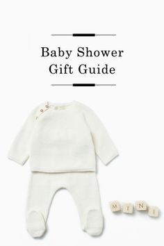 Baby Shower Gift Guide /
