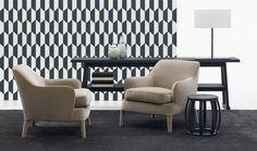 Armchair: FEBO - Collection: Maxalto - Design: Antonio Citterio