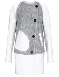 Dove Grey Wool Galak Coat | Eudon Choi