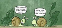 """Humor Grafico: Humor: """"Caracoles""""   [25-07-2015]"""