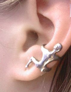 Little man on your ear piercing