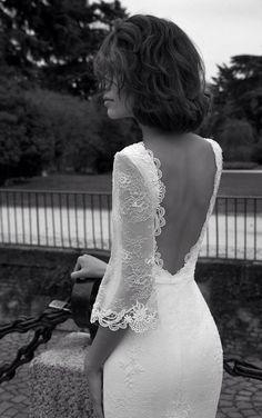 Image via We Heart It #weddingdress #bridedress #lizmartinez