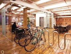 Parking Bici Oficinas #ideascoworking #deco