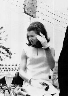 Jacqueline Kennedy in Spain, 1966                      ❋ ❤✾❤✿❤✾❤❋  http://en.wikipedia.org/wiki/Jacqueline_Kennedy_Onassis