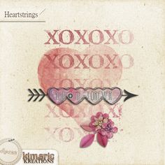 kimeric kreations: Heartstrings - New this week! and..a beautiful cluster from Anita :) Love. *