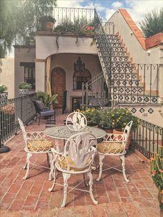 Luxury House Deck In Spanish