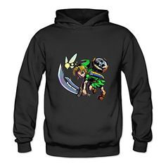 The Legend Of Zelda Majoras Mask Women's O Neck Long Sleeve Hoodies,it Is Made Of 100% Cotton,well Printed Images By Environmental Healthy Inks,Customized Hoodi...