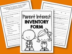 Free Interest Inventory to help you get to know your students before they arrive.