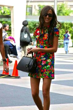 Summer 2014 trends: floral dresses