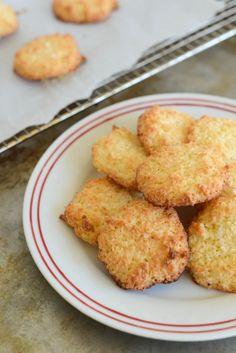 Scandinavian Coconut Cookies with Sea Salt | Recipe at Outside Oslo