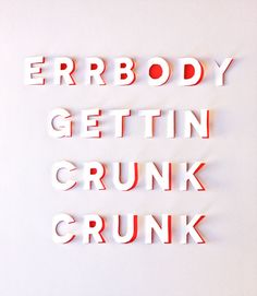 Un poster typographique DIY
