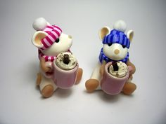 lovely little mice from Quernus Crafts
