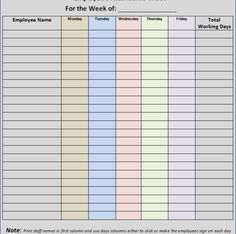 Attendance Sheet For Students Impressive A Blood Pressure Log Template Is The Log Which Records Pressure Of .