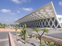 Menara Airport in Marrakech, Morroco by E2A Architecture