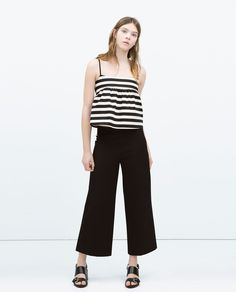 TOP WITH STRAPS-Tops-WOMAN | ZARA United States