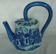 GORGEOUS Vintage Victoria Ware Ironstone Water Watering Pitcher Shaped Body