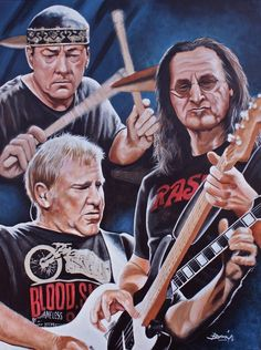 Early Rush the Band | the work was auctioned off for the make a wish